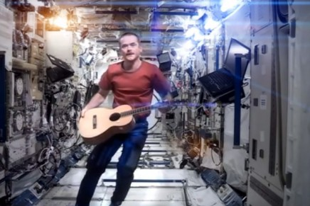 VideoMusic by Cosimo Alemà #7: Biting Elbows – Chris Hadfield – About Wayne – The Public Radar