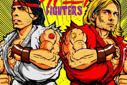 Grunge Street Fighters: fra chitarre distorte e hadouken