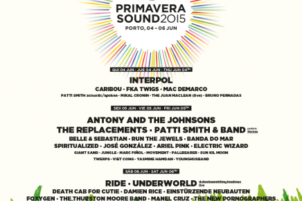 La line-up del NOS Primavera Sound 2015