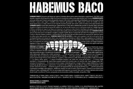 """Bachi Da Pietra: a maggio esce """"Habemus Baco"""""""