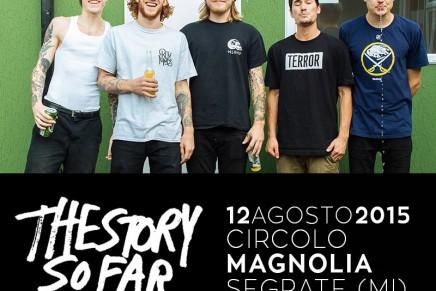 The Story So Far: il 12 agosto live a Milano