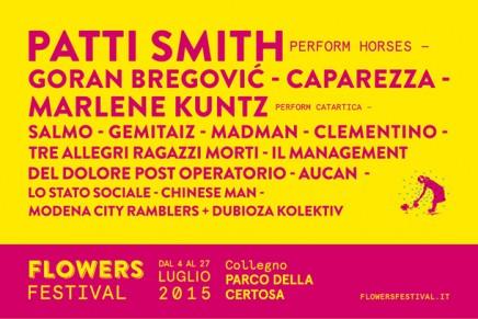 Flowers Festival: dal 4 al 27 luglio 2015