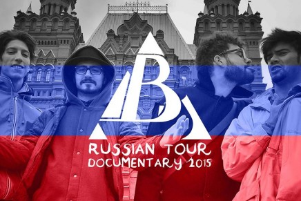 Barely Awake Russian Tour Documentary 2015