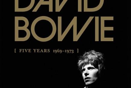 """David Bowie: il 25 settembre esce """"Five Years: 1969-1973″"""