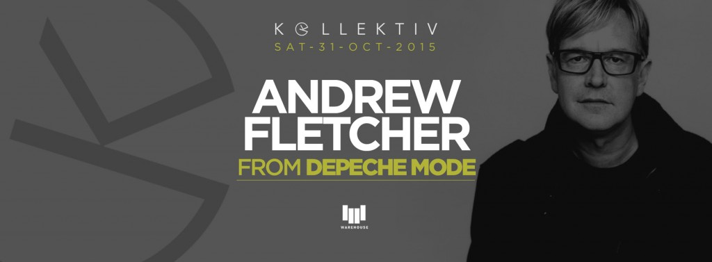 Andy Fletcher (Depeche Mode) a Roma (unica data italiana)