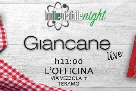 INDIeVISIBILE Night presenta: Giancane