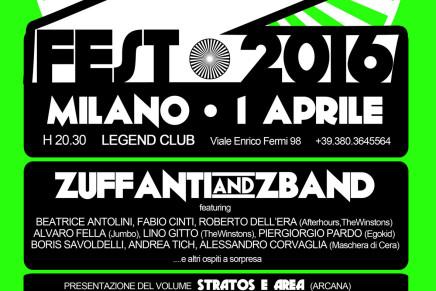 Z-FEST 2016: in scena il 1 aprile a Milano