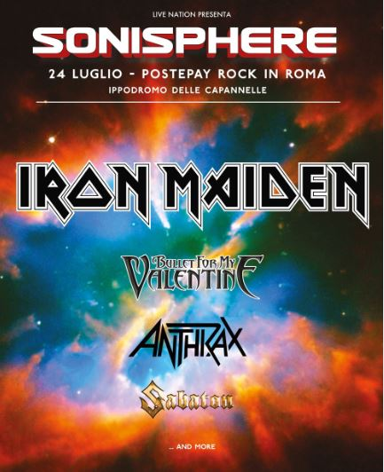 Sonisphere Festival Postepay Rock in Roma