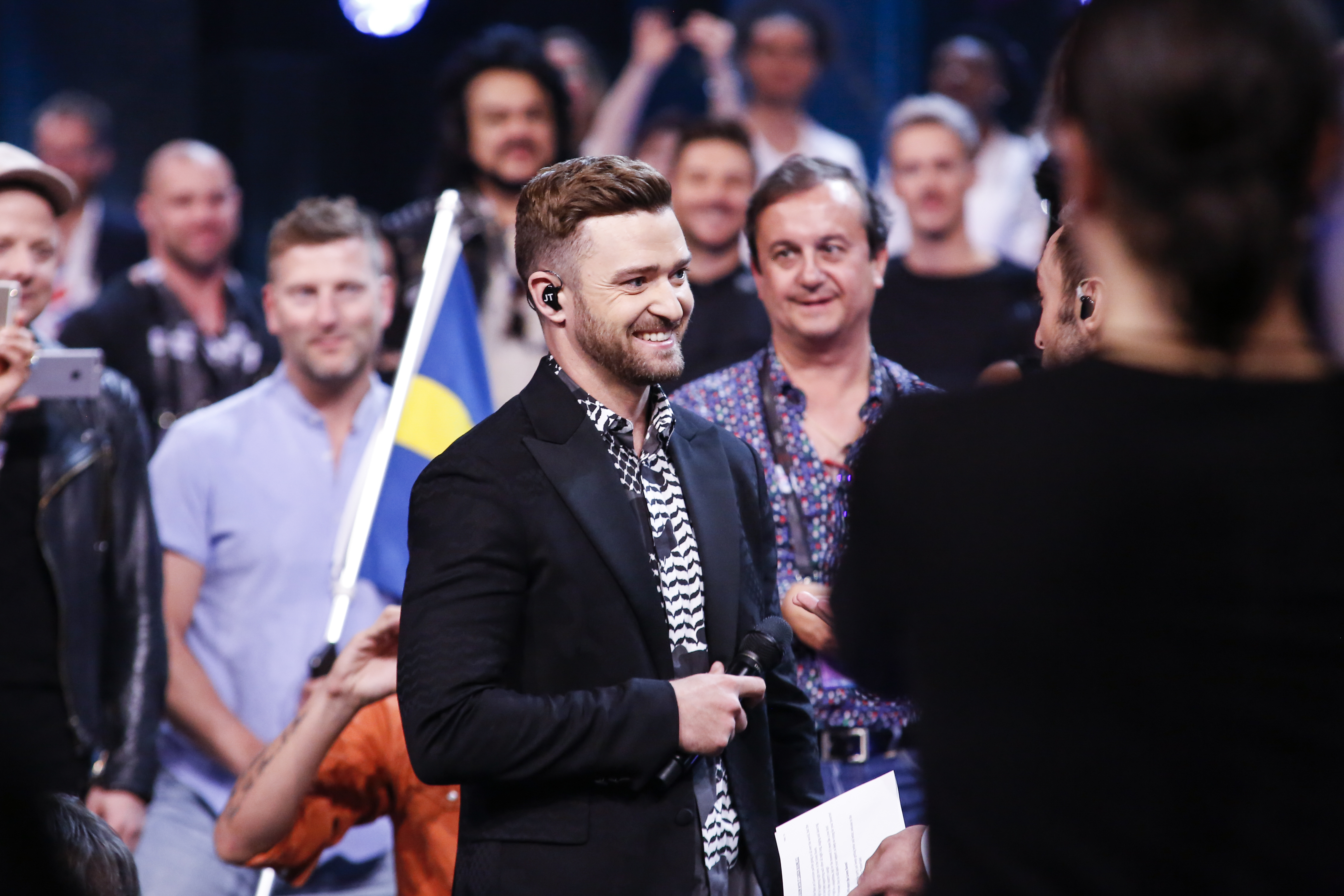 Eurovision Song Contest  Justin Timberlake