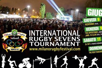 Milano Rugby Festival 2016: la line-up
