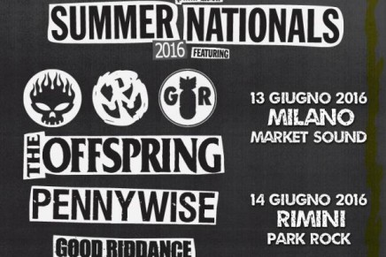 Punk Rock Summer Nationals: due date a Giugno