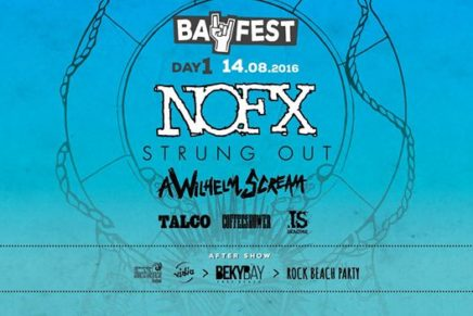 Punk Rock e salsedine: Bay Fest, Day 1