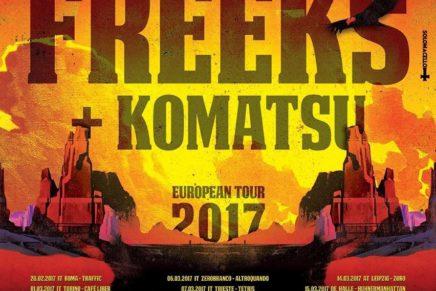 The Freeks + Komatsu @Sidro Club, 08-03-2017