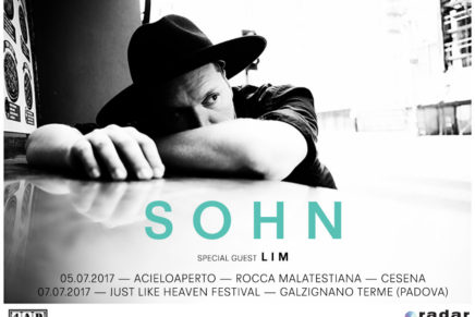 SOHN: due date estive in Italia