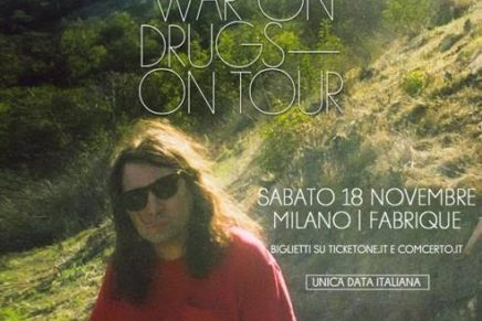 The War On Drugs: in Italia a novembre per un'unica data