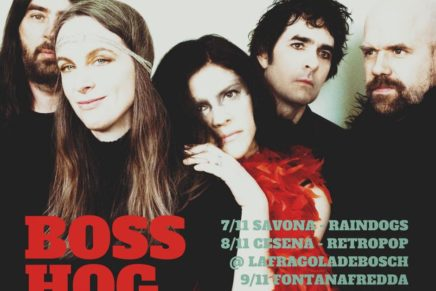 Boss Hog in Italia a novembre